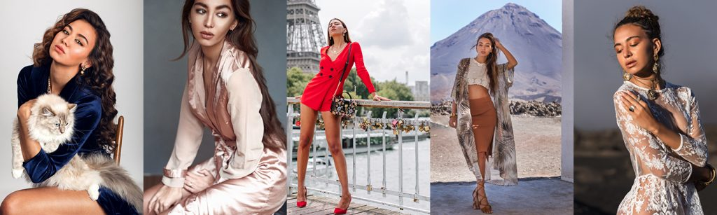 some pictures from our model Antonia